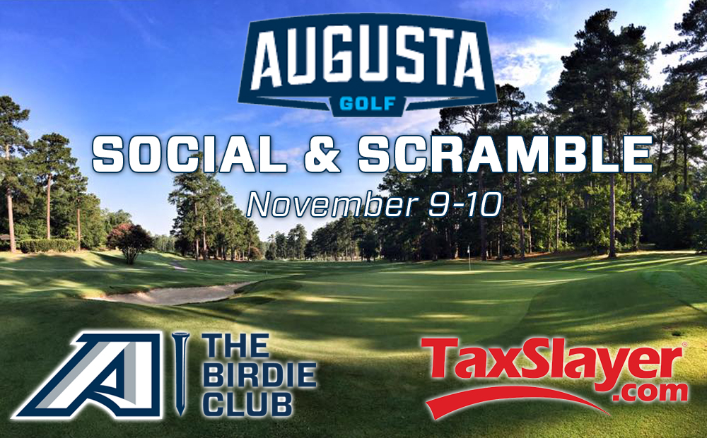 Join The Birdie Club Nov. 9-10 For The Augusta University Golf Social & Scramble