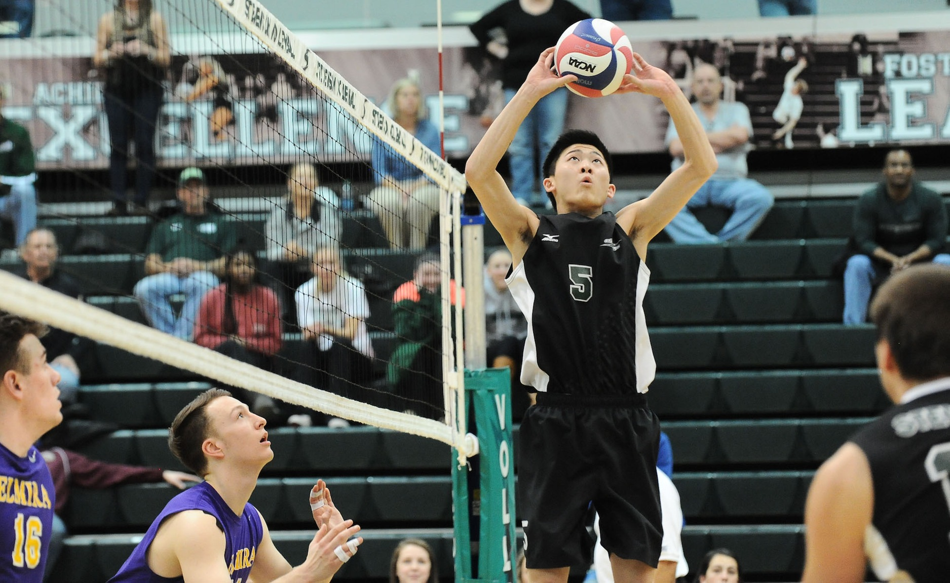 Strong Offense Leads Mustangs Past Thiel in Straight Sets