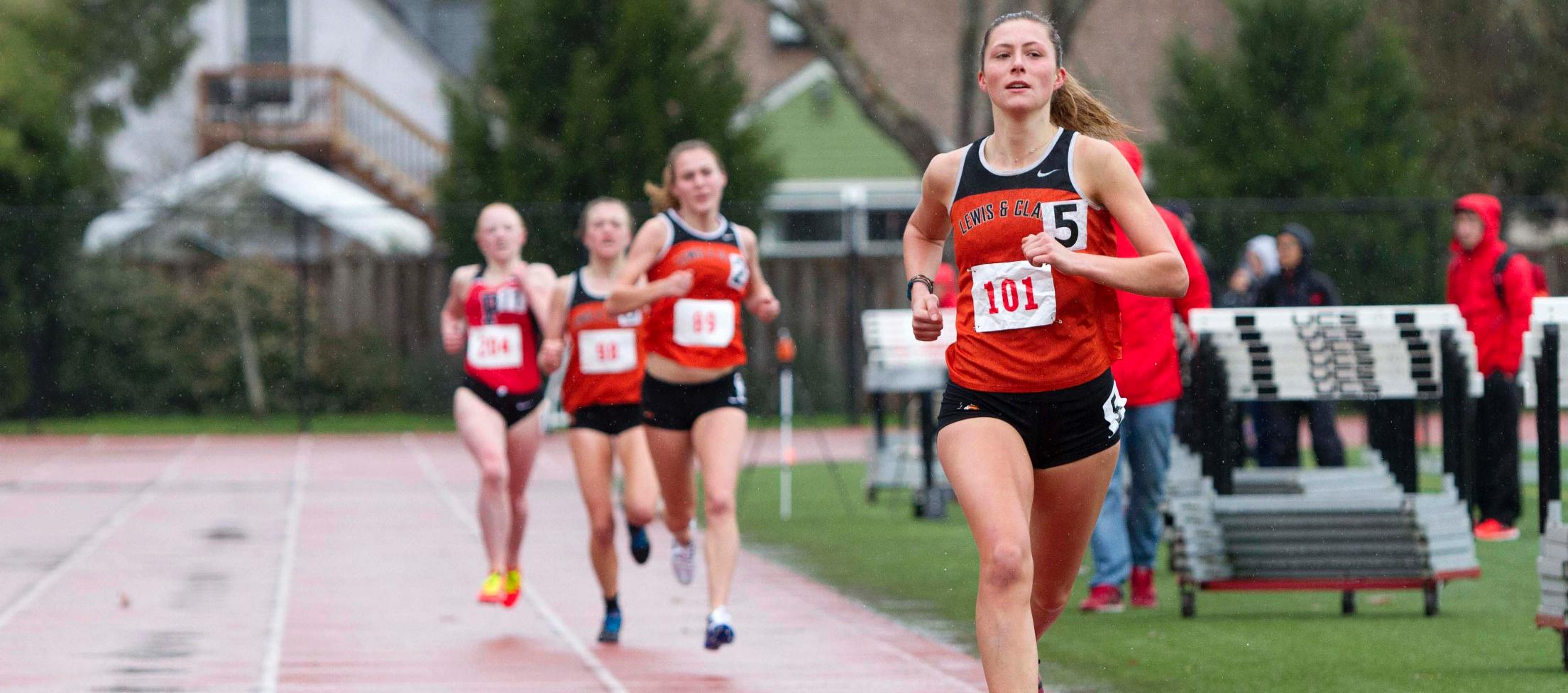 Big start in steeplechase powers Pioneers at George Fox Invite