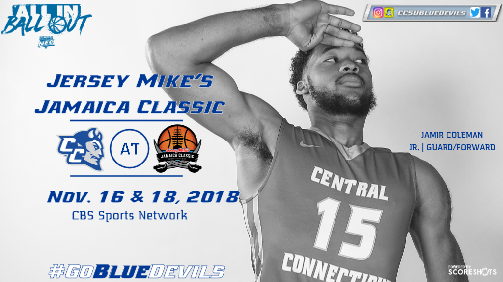 Men's Basketball Heads to Jersey Mike's Jamaica Classic for Two Contests