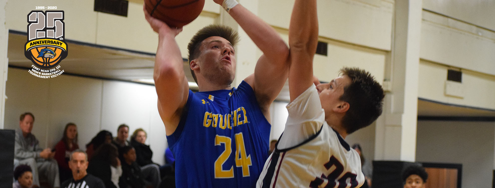 Three-Ball Dooms Goucher Men's Basketball In Season Opener Against Valley Forge