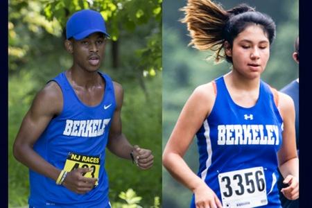 Men's and women's cross country teams compete in 2017 HVIAC championship meets at Hudson Valley Sports Dome