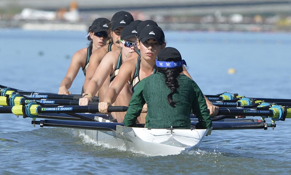 ROWING WRAPS UP 1ST DAY OF WIRAs, THREE BOATS TO COMPETE IN TOMORROW'S GRAND FINALS