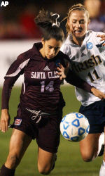 Broncos Fall To Fighting Irish, 1-0