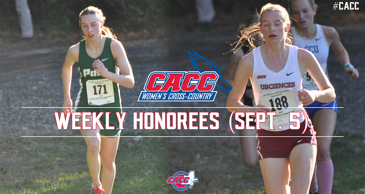 CACC Women's Cross Country Weekly Honorees (Sept. 5)