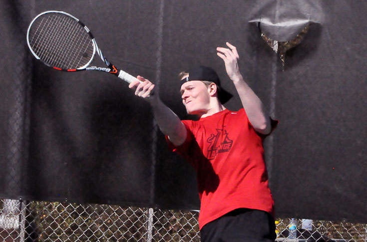 Men's Tennis: Averett downs Panthers in USA South match