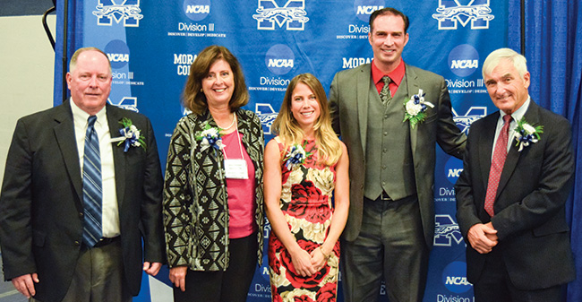 Moravian Welcomes 2016 Hall of Fame Class & Presents Herbstman Award