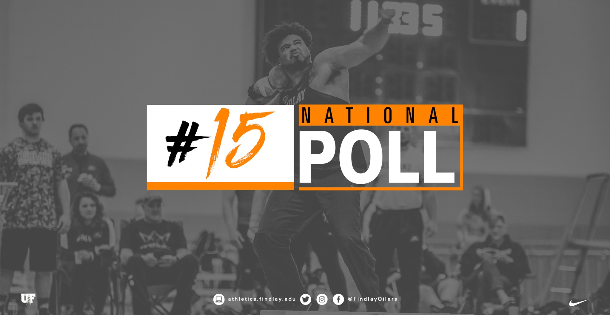 Oilers Ranked 15th in Latest National Poll