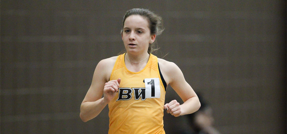 Junior All-American distance runner Kelly Brennan broke the school's 5,000-meter run record in the first meet of the season