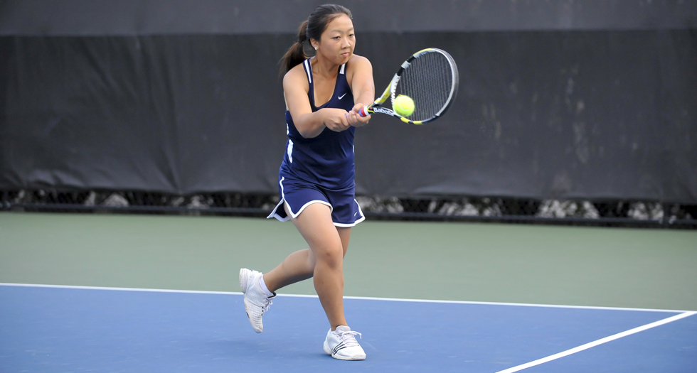 Tennis Posts 9-0 NEWMAC Win at Clark
