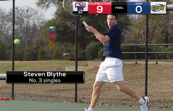Nationally-Ranked Columbus State Sweeps GSW, 9-0