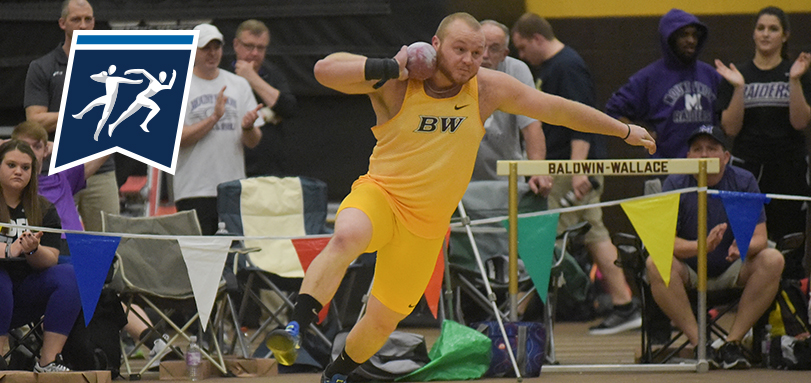 Junior All-OAC thrower Cody Smith