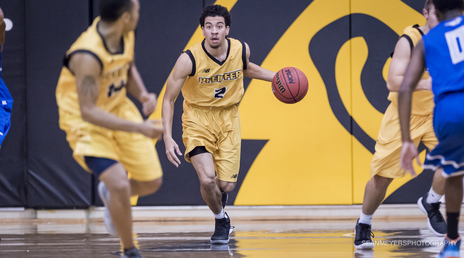 Men's Basketball Completes Weekend Sweep in Convincing Fashion