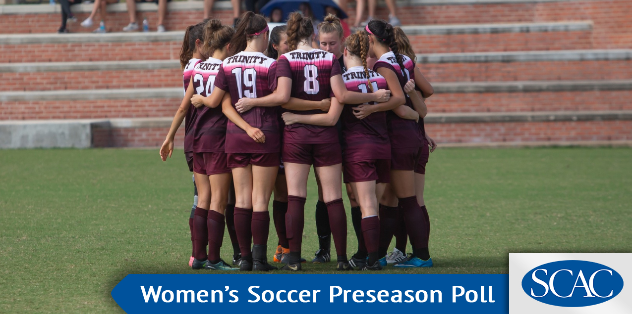 Trinity Consensus Favorite in SCAC Women's Soccer Preseason Balloting