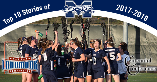 The women's lacrosse team's conference postseason berth, conference academic honor rolls and All-Conference selections are the Top 10 Stories of 2017-18 Best of the Rest.