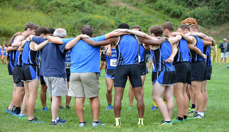Men's XC Dominate at Asheville Cross Country Challenge