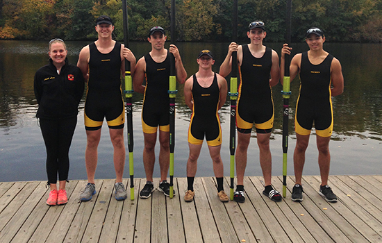 Rowing Wraps up Fall Season at the Head of the Charles Regatta