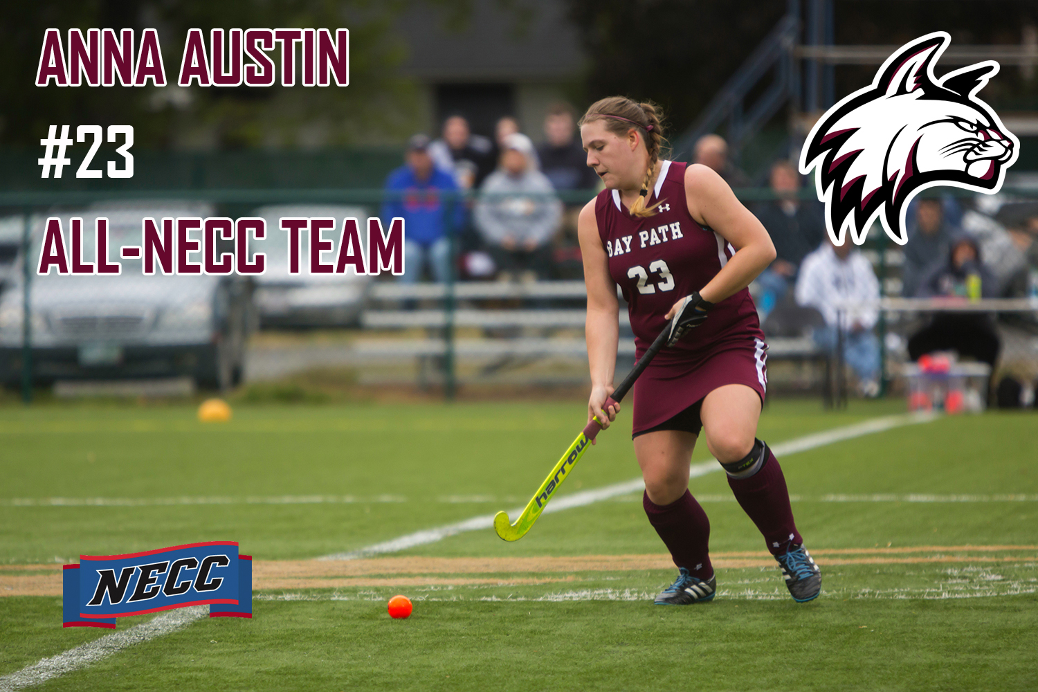 Austin and Gonya selected for All-NECC Field Hockey Honors