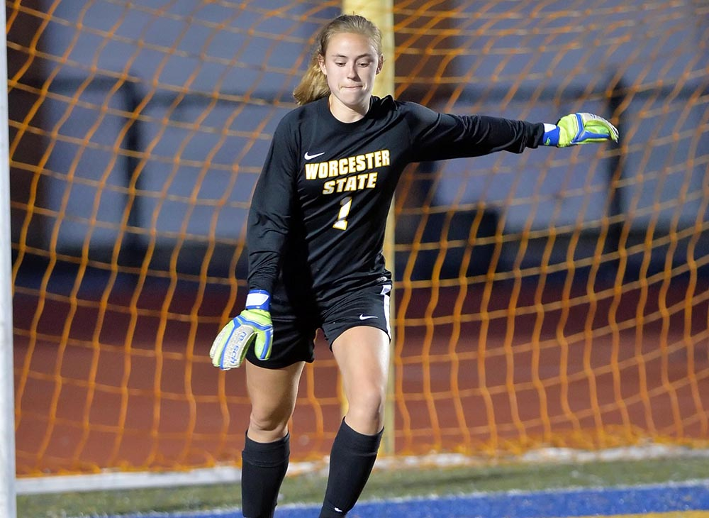 Women's Soccer Halted by Cross-Town Rival Clark