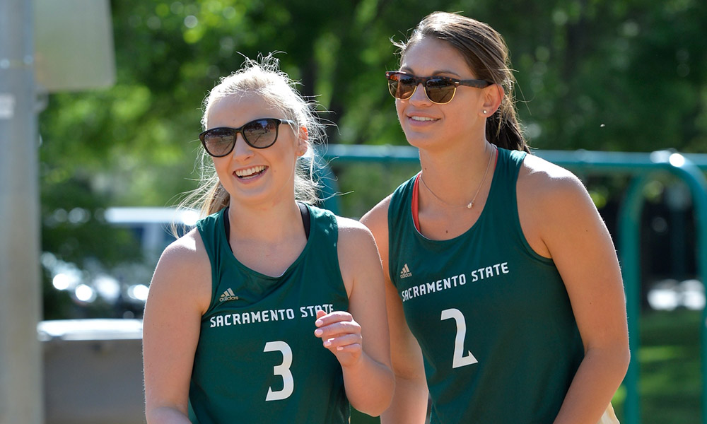 BEACH VOLLEYBALL PULLS OFF TRIPLEHEADER SWEEP OF USF, SAN JOSE STATE & CAL POLY
