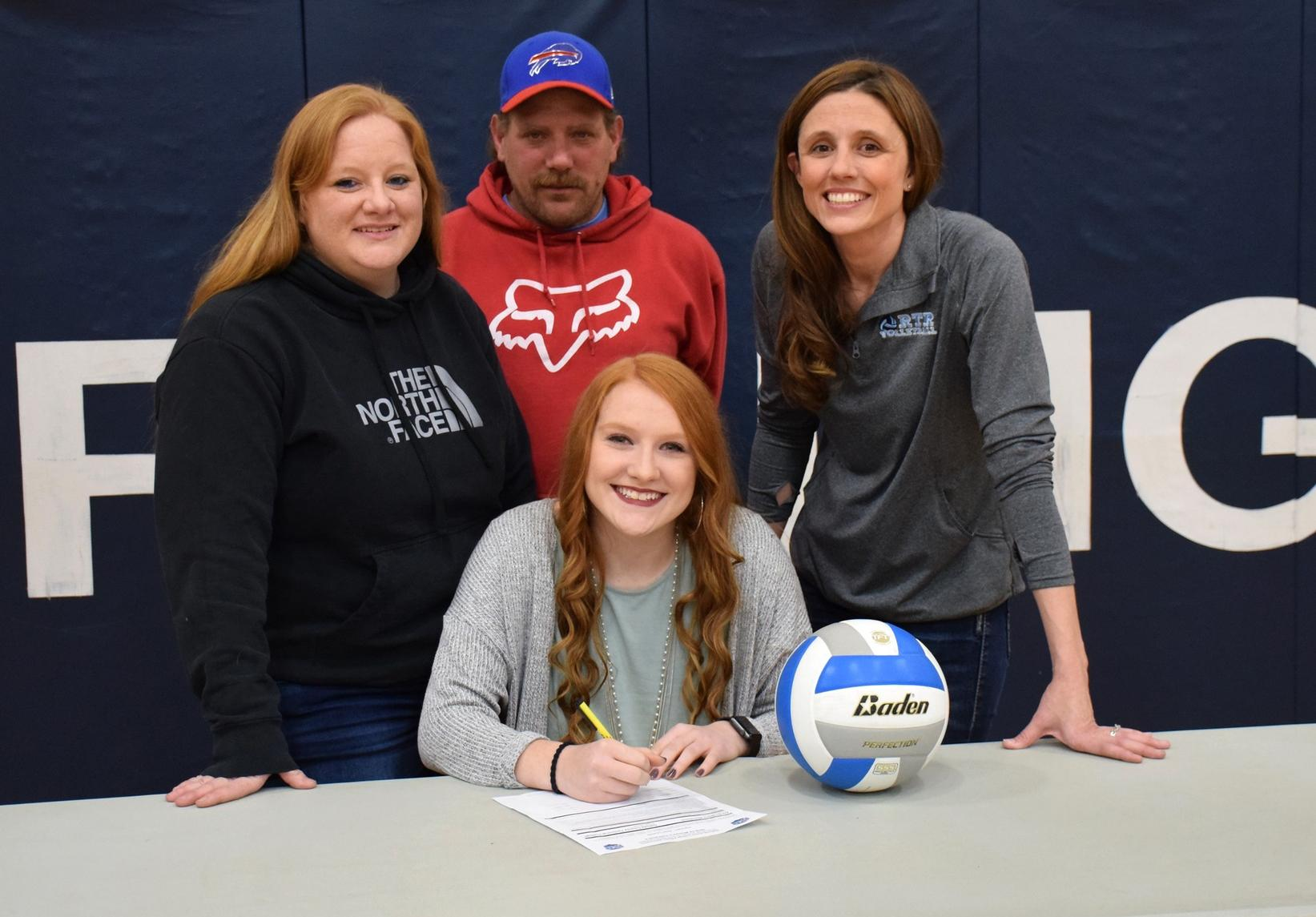 DCTC Volleyball Announces the Signing of Alexis Wendland