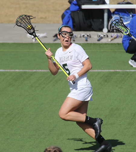 Gators roll over MCLA in home opener, 18-7 as Koralus tallies 9 points