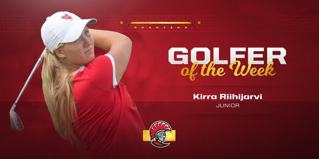 Kiira Riihijarvi Named SSC Women's Golfer of the Week