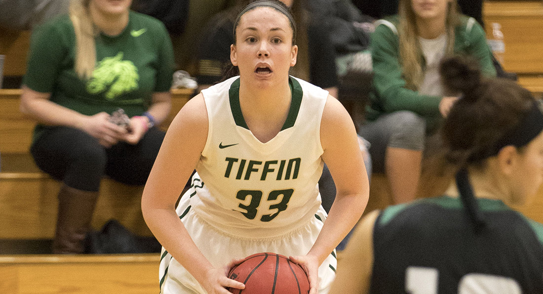 Madison Jackson poured in 14 points on 4 of 7 shooting from the arc in Tiffin's 54-46 victory.