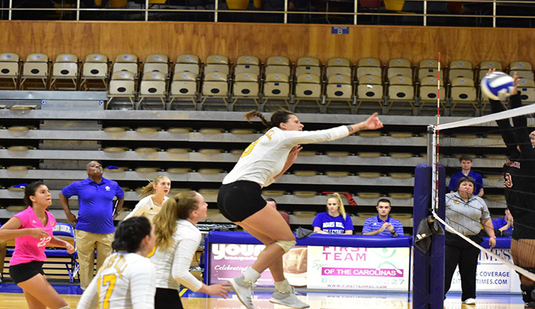 Mars Hill falls in five-set classic to undefeated Wingate
