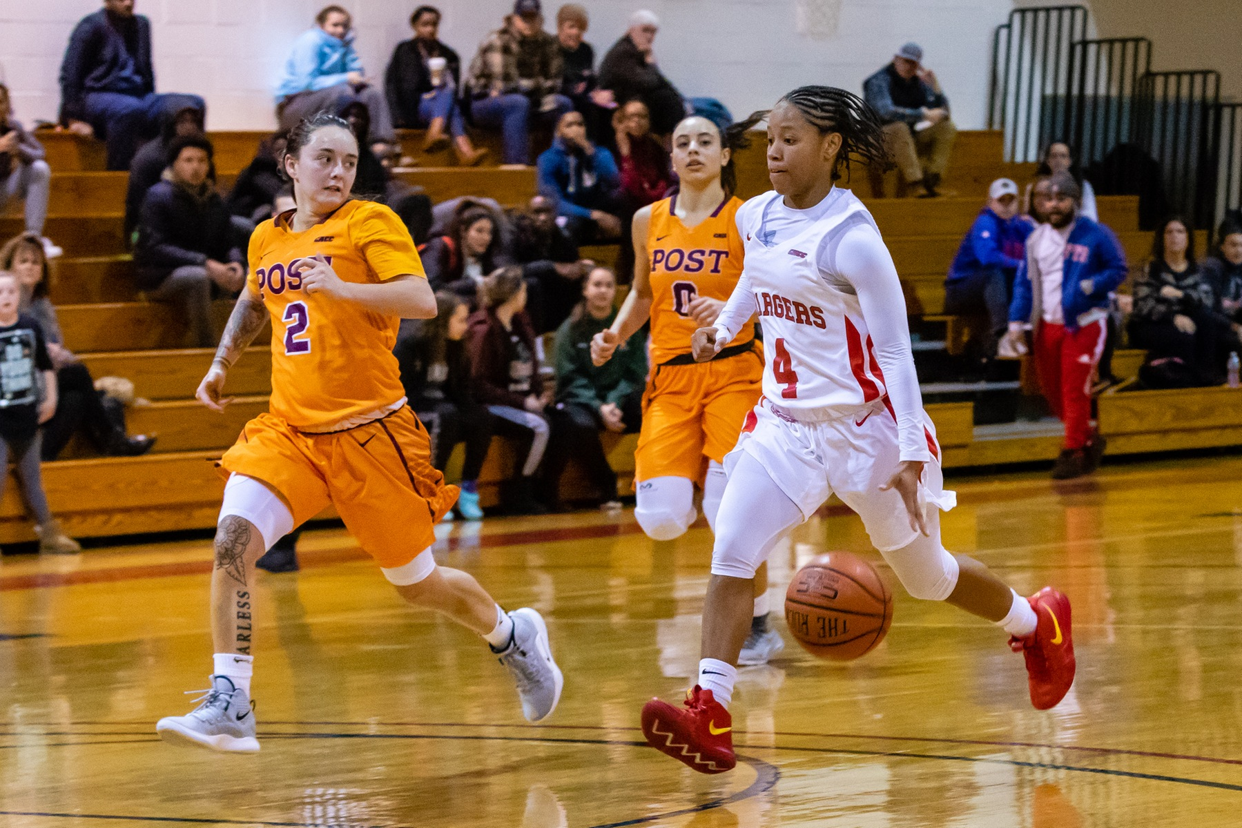 WOMEN'S BASKETBALL EARNS COMEBACK VICTORY OVER CONCORDIA