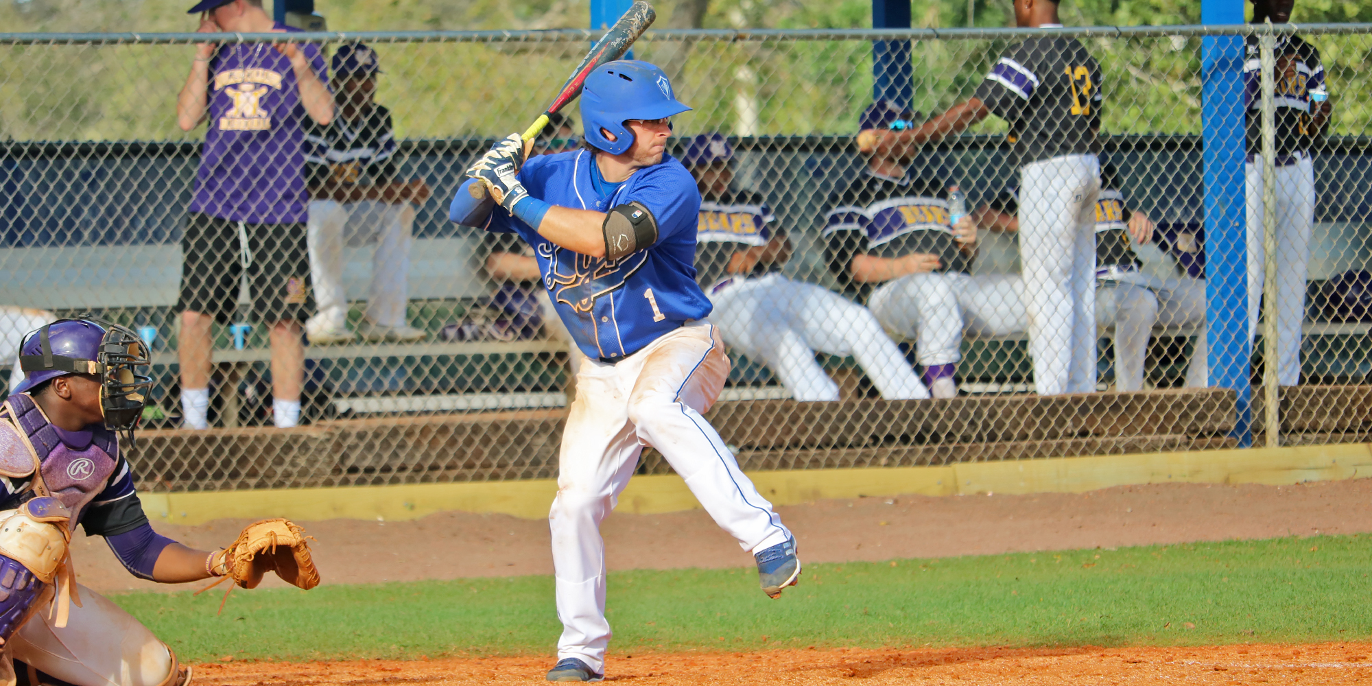 Baseball Outlasts Miles in Doubleheader Sweep