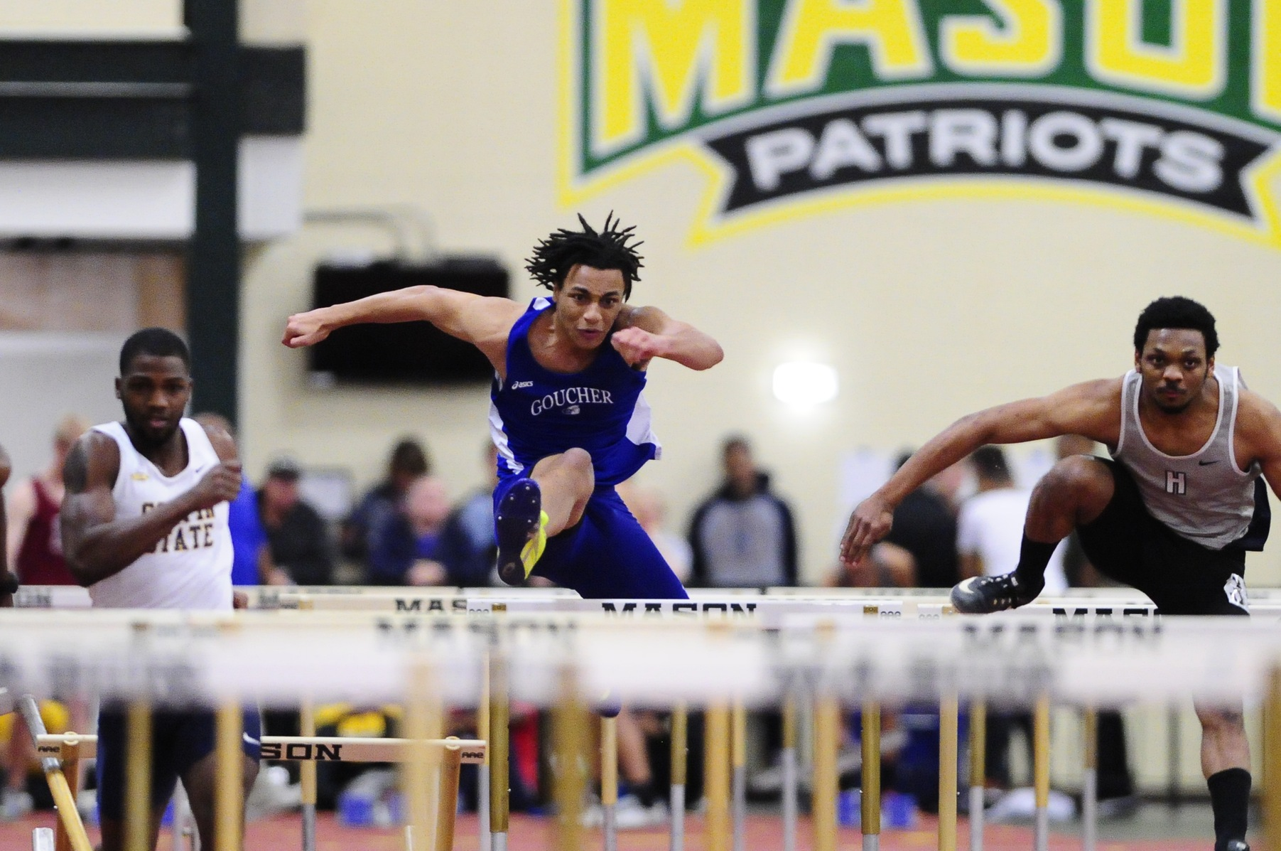 Chukwu & Taylor Break 55M Hurdles Record at Dickinson
