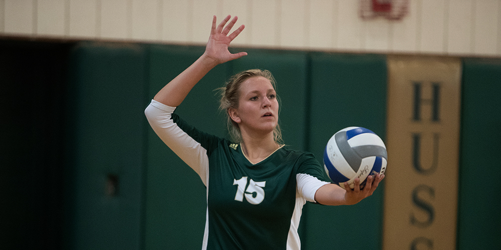 Women's Volleyball Advances to NAC Semfinals With Win Over Maine-Presque Isle