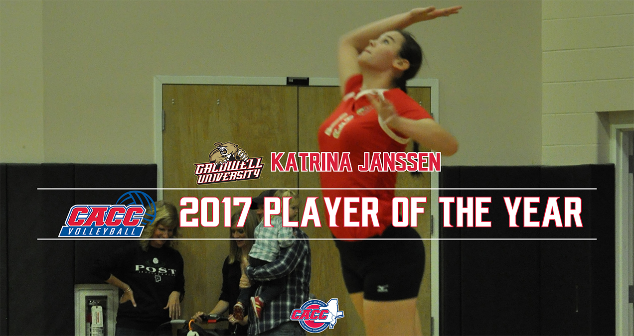 Caldwell's Katrina Janssen Named 2017 CACC VB Player of the Year; All-CACC Honorees Announced