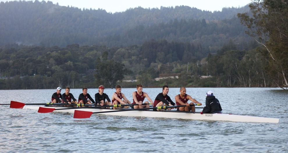 Men's Rowing Competes at Stanford Invitational
