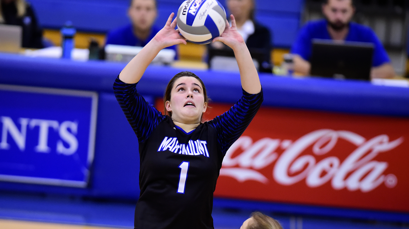 Women's volleyball named Marymount Invitational champs with two 3-0 wins; Viniard named MVP