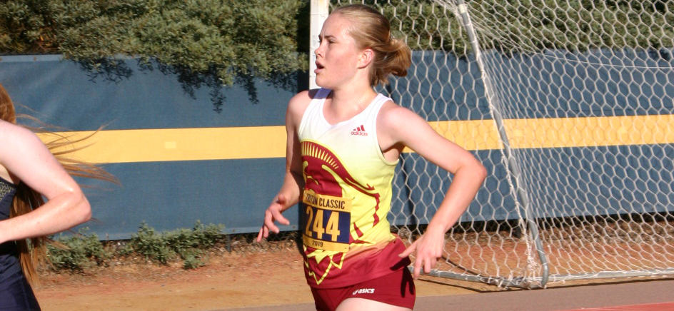 Dulcie Jones finished eighth overall for CMS at last year's SCIAC Championships.