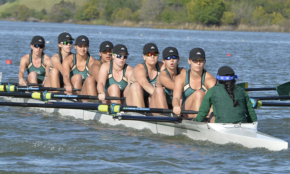 ROWING CONCLUDES THE LAKE NATOMA INVITATIONAL WITH THREE THIRD-PLACE FINISHES