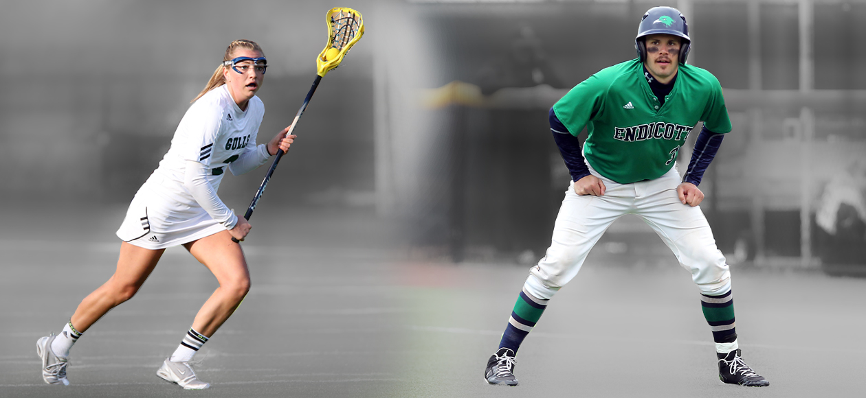 Two Gulls Claim ECAC Honors After CCC Tournament Efforts