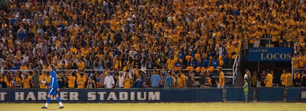 Gauchos Tighten Stranglehold on Soccer Attendance Lead