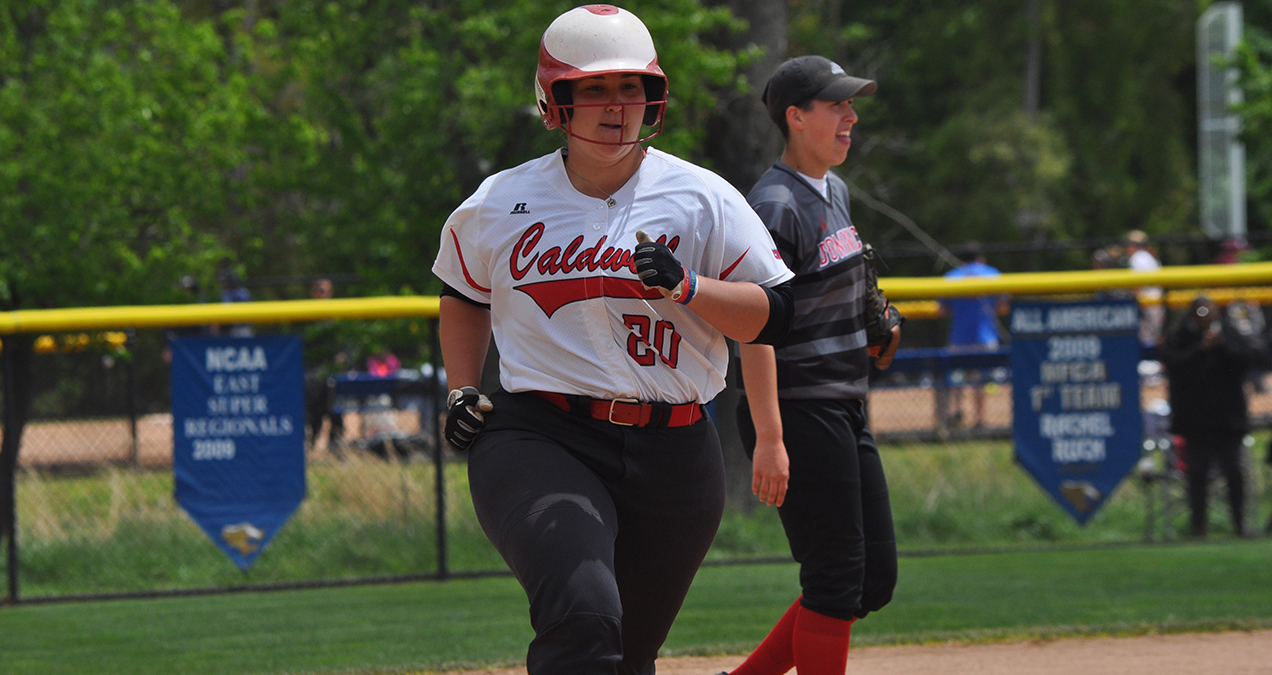 Caldwell's Marisa Monasseri NCAA Division II Statistical Champion in On-Base Percentage