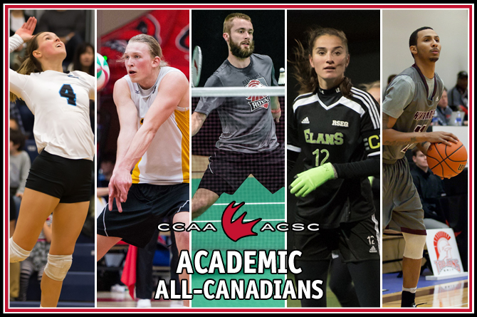 2016-17 CCAA Academic All-Canadians