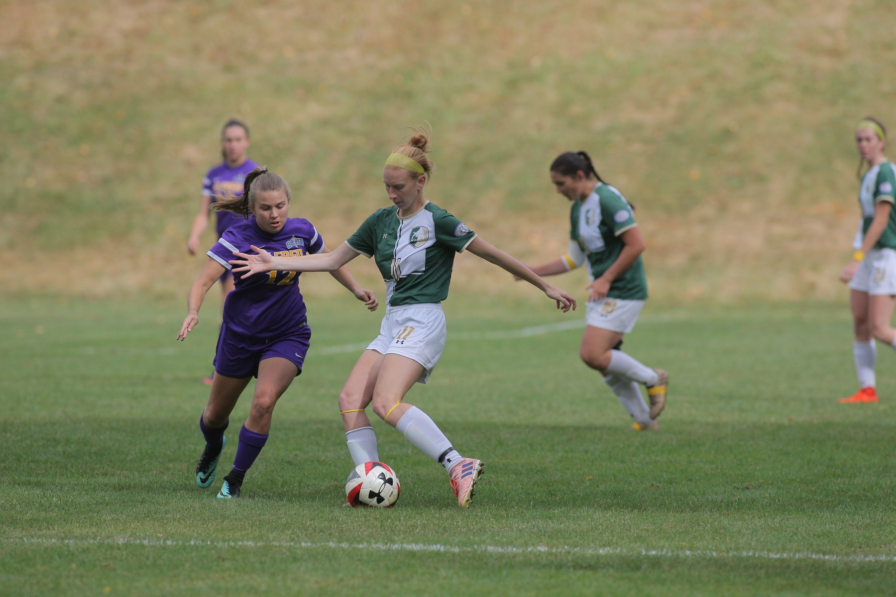 Women's Soccer Lead Slips as the Bison Falls to Marietta