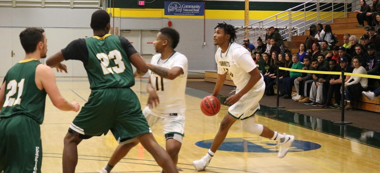 Hornet men overwhelmed in exhibition loss to UNH
