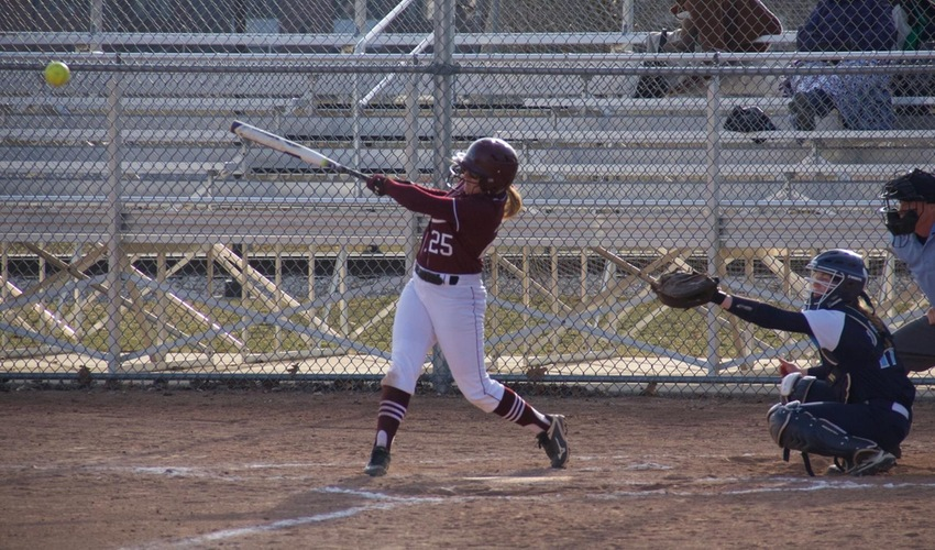 Softball Tripped up at Olivet
