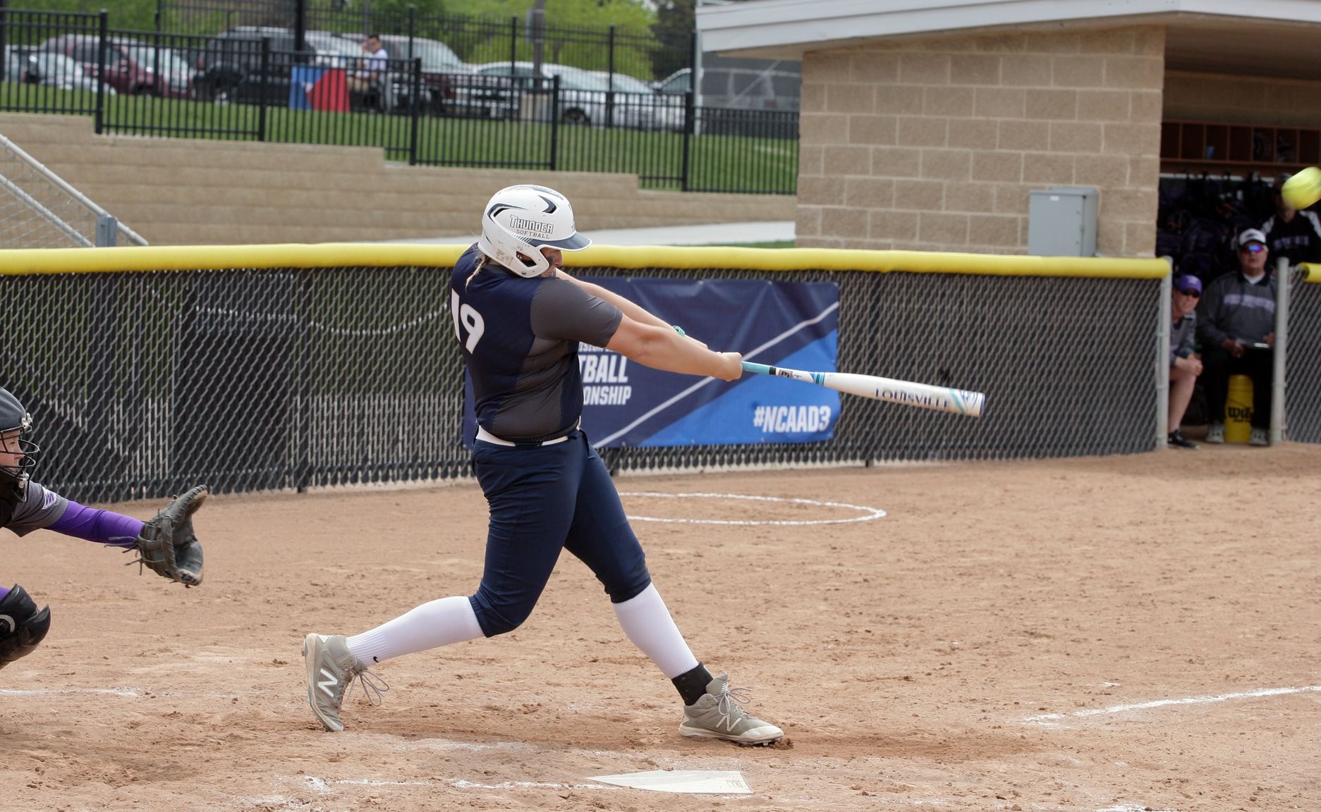 Thunder Finish as Division III Leader in Home Runs