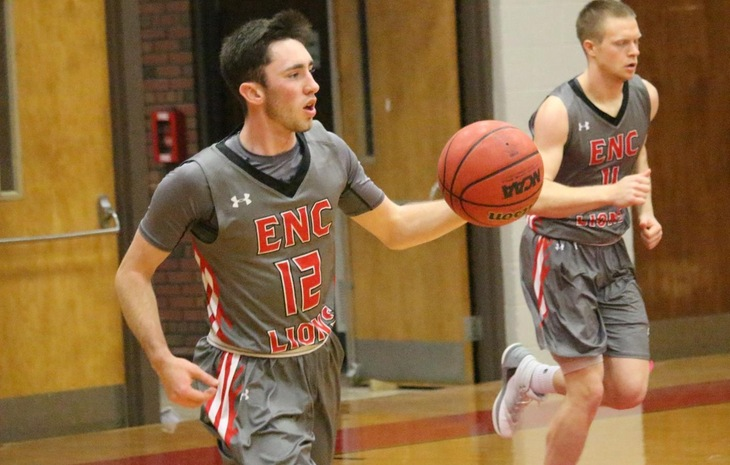 Men's Basketball Wraps Up Season with 70-56 Win at Curry