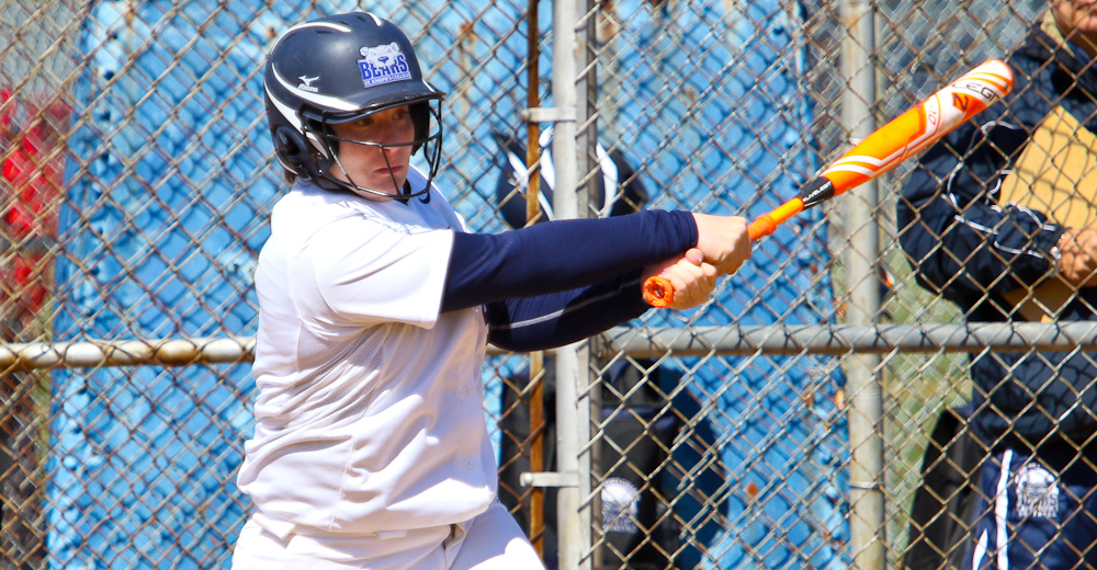 Ferrigno Joins 100-Hit Club, Mahoney Fans Six As Softball Wins Season Opener in Split at Gallaudet