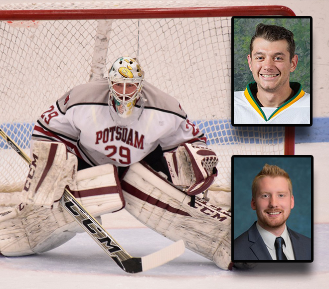 Weekly awards announced for men's ice hockey