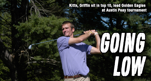 Kitts shoots 67, Griffin fires 68 to lead Golden Eagles